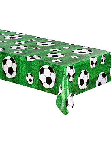Football Plastic Tablecloth World Cup Soccer Party Decoration Accessory Supplies