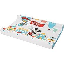 Disney - Cambiador para bebé (tacto suave), diseño de Mickey Mouse
