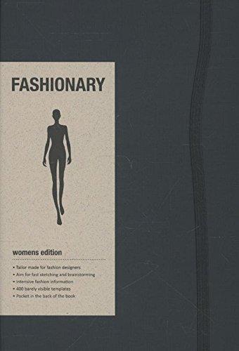 Fashionary Womens Sketchbook A5 por Fashionary