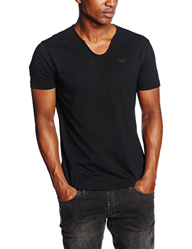 Kaporal Salva, T-Shirt Uomo, Nero, XL