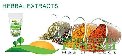 Saw Palmetto Extract 4:1 Powder Serenoa 100g by Mountain Fresh