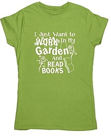 HippoWarehouse Damen T-Shirt Gr. XL, kiwi
