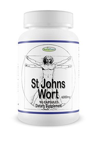 Enhancer 90 Kapseln (ST JOHN 'S Wort Extract echtes Johanniskraut Hat der Qualitäten Beruhigende und die Stimmung D Load Balancer Qualitäten 90Kapseln)