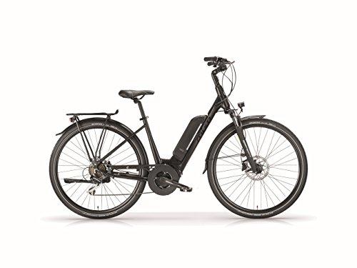 Preisvergleich Produktbild MBM E-Bike Titania,  28 Zoll,  Schwarz-Matt,  Rahmenhöhe: 430MM