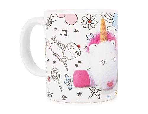 DESPICABLE ME MINIONS 93737 - Keramiktasse DM 3 Fluffy in Geschenkpackung, 12 x 9 x 10 cm, 320 ml (Mädchen-sport Bettwäsche)