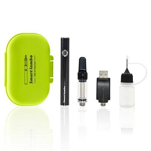 cbdöl vaporizer,Atman PUG CBD liquid e zigarette hemp oil vape pen(510 Faden) mit Keramikspule vape cartridge (0.8ml) kompatibel wieder auffüllbar vaporizer pen ,kein Nikotin