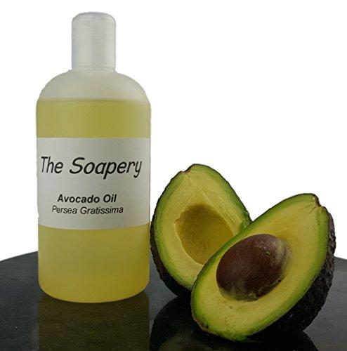Seifen-lotion-massage-Öl (Avocado-Öl - 500ml verfeinert kosmetische Qualität für Massage, Aromatherapie, Seife und natürliche Hautpflege)