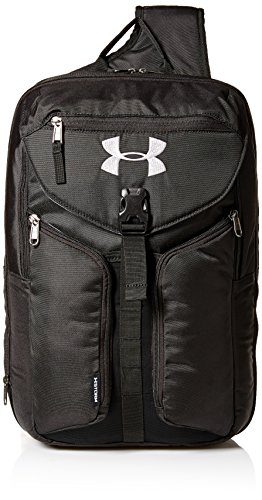 Under Armour Compel Sling 2.0 - black / black / silver, Größe #:- (Sling Armour Under)