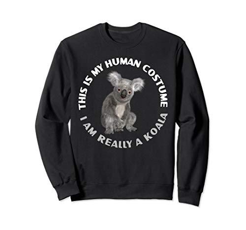 Lustige Koala-Bärn-Kostüm-Tierliebhaber Halloween-Geschenke Sweatshirt