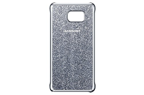 Samsung Galaxy Note 5 Glitter Protective Back Cover Case  Silver