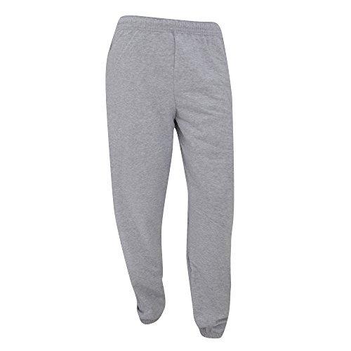 Fruit of the Loom - Pantalones de Deporte/Gimnasio/Entrenamiento para Hombre - Pantalones de Chandal Extra Grande (XL)/Gris