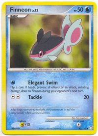 Finneon - Diamond & Pearl Mysterious Treasures - 83 [Toy] (Finneon Pokemon)