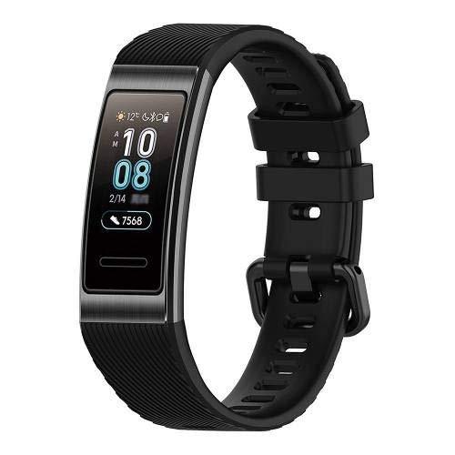 Huawei Band 3 Pro Sport Smartwatch & Fitness Tracker con GPS integrato, AMOLED, touchscreen, NFC - Nero