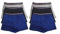 Boys Tom Franks Kids Cotton Rich Boxer Trunk Underwear 11-12 years 6 Pack