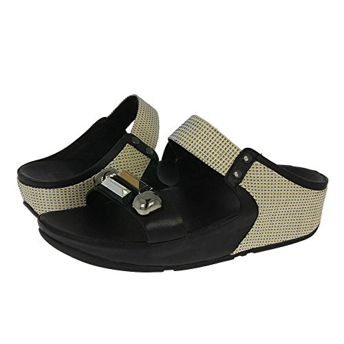 Fitflop Sandalo Jeweley Slide Black Nero