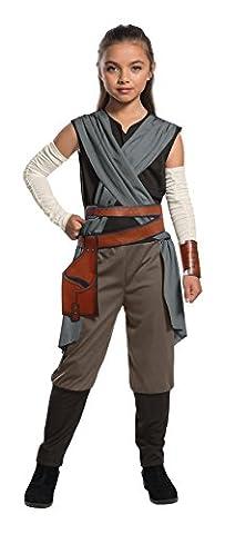 Rubie's officielle de Star Wars The Last Jedi Rey Filles Childs Costume, grande 8–10ans, hauteur 147cm