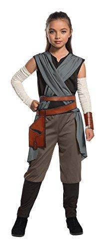 Rubie`s ufficiale Star Wars l' ultimo Jedi Rey ragazze bambino costume, taglia S, 3–4anni, altezza 117cm