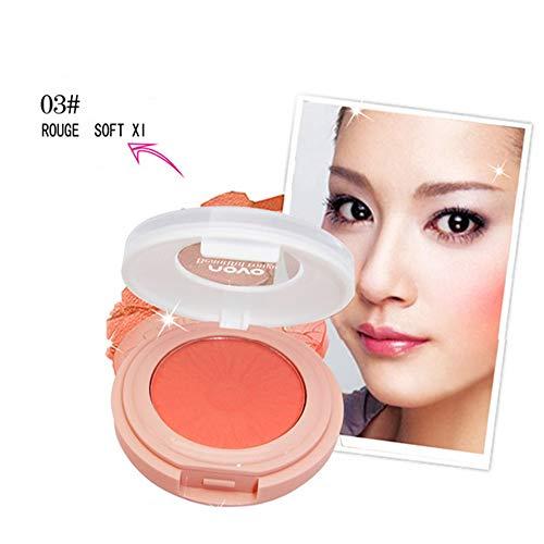 Xshuai NOVO Blush Palette Gesicht Makeup Baked Cheek Farbe Blush Professional Make-up Rouge Rouge-Palette (C) -