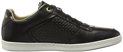Pantofola d'Oro Herren Auronzo Braided Uomo Low Sneaker Schwarz (Black)