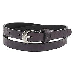Aditi Wasan Genuine Leather Purple Ladies Belt