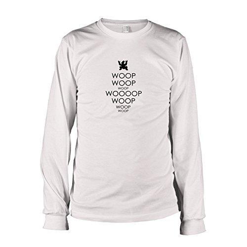 TEXLAB - Woop Woop - Herren Langarm T-Shirt, Größe XXL, (Kostüm Nibbler)