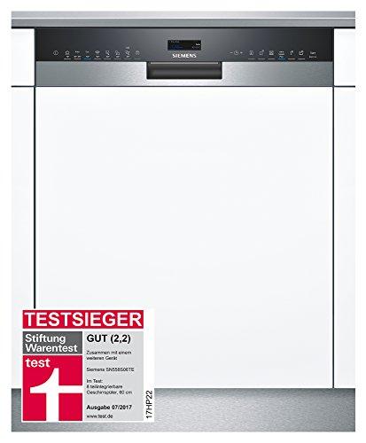 Siemens SN658X06TE iQ500 Wi-Fi Geschirrspüler A+++/237 kWh/Jahr/2660 L/Jahr/AquaStop