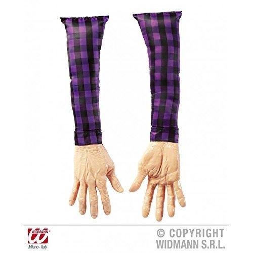 Preisvergleich Produktbild Abgetrennter Arm / Unterarm in Lebensgröße / Halloweendeko / Party Dekoration