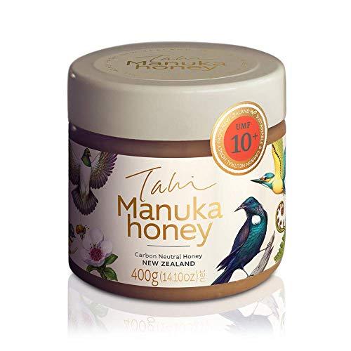 Tahi Manuka Honig 250 g in 10+ UMF 265+ MGO - zertifizierter Neuseeland Honig - Methylglyoxal Honig 100{ce624818ab626bcac80b663c1fbb4dba837cbd939e1bc20a4e965fc8c660a569} roh und original - Familienbetrieb - Öko Honig