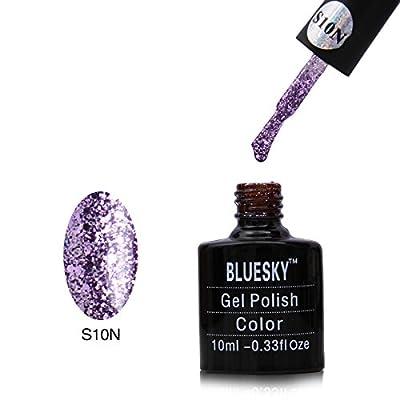 Bluesky UV LED Gel Soak Off Nail Polish, Lilac Ritz