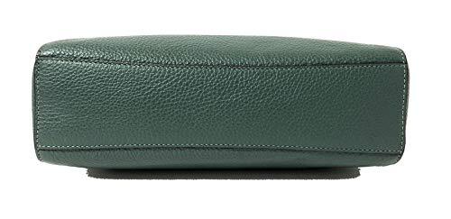 Coach Pebble Leather small Kelsey Satchel Crossbody Handbag (Turquoise)