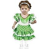 Disfraz de Flamenca Verde (3-4 años)