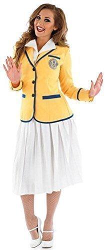 Women's Plus Size Yellow Coat Hi De Hi Uniform - Sizes 20-22, 24-26