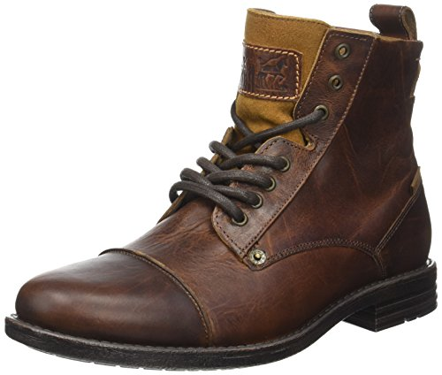 Levi's Herren Emerson Kurzschaft Stiefel, Braun (Medium Brown), 45 EU