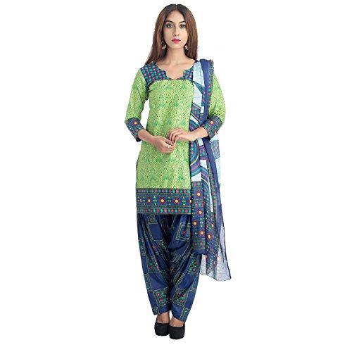 Lionize Women's Pure Cotton Multicolour Salwar Suit Dress Material