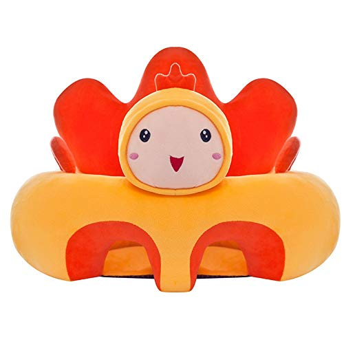 Suave y cómodo Asiento de bebé Soporte Cojín Infantil Silla Sofá Animal...