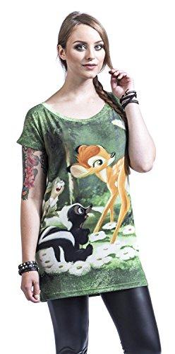 Walt Disney Bambi - Forest T-shirt Femme allover allover