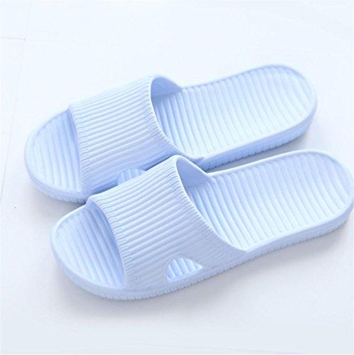 Mhgao da donna casual pantofole casa con flat-slip ciabatte da bagno 3