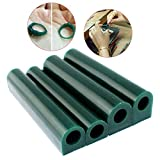 Filfeel Tubo de cera para la producción de bricolaje de anillos de grabado de joyería.(T100)