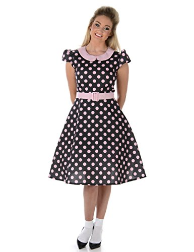 Roll And Outfits Jahre Rock 1950er (50er Jahre Kostüm für Damen)
