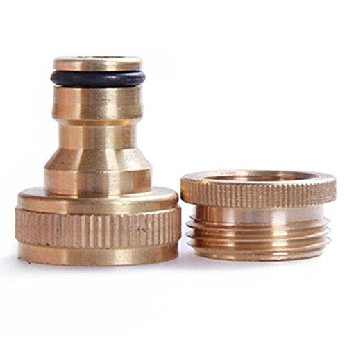 vap26 Wasserhahn-Anschlussstück für Wasserhahn, Messing, 1,9 cm bis 1,27 cm, goldfarben, 4 * 3cm/1.57 * 1.18in