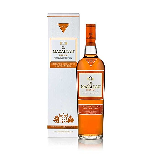Macallan Whisky Escocés Single Malt Sienna, 15 años - 0.7 L
