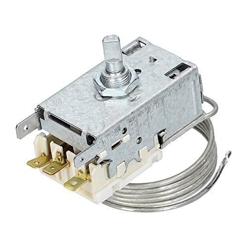Thermostat Temperaturregler Kühlthermostat Kühlschrank Gefrierschrank für Ranco K59H1300 Liebherr 6151086 Miele 1513061 -