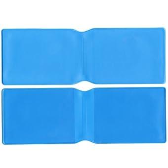 50x hellblau Kunststoff Oyster Card Wallet Abdeckung/Halterung/