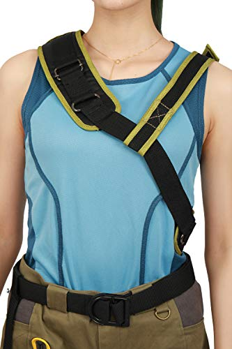 DealTrade Lara Croft Gürtel mit Klammern Strap Cosplay Kostüm Halloween Erwachsene Damen Bund Kostüm Kleidung Zubehör (Lara Halloween-outfits Croft)