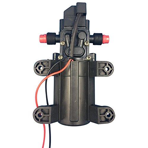 TOOGOO 12V Hochdruck Auto Membran Wasserpumpe 5L/min 100 PSI Druckschalter