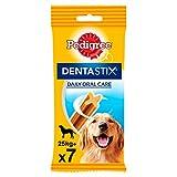 Pack de 7 Dentastix de uso diario para higiene oral para perros grandes | [Pack de 10]