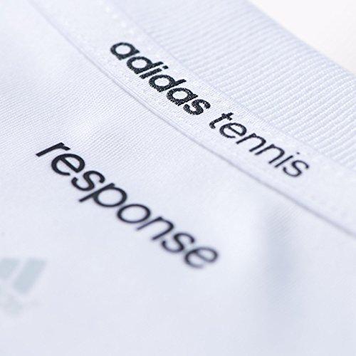 adidas Herren T-Shirt Response Weiß/Schwarz