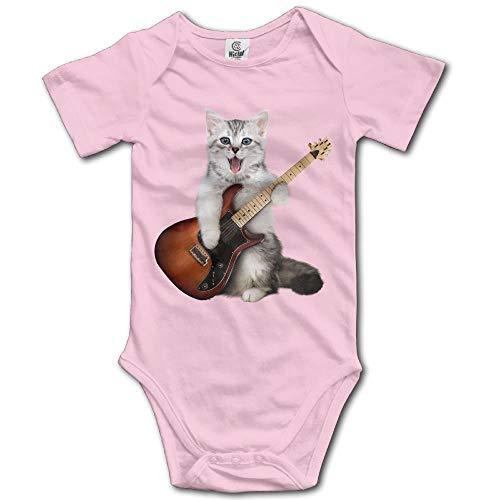 dsfsa Babybekleidung Guitar Cat Cotton Baby Bodysuit Baby Boys Onesie Clothes Carters 5 Pack Onesies