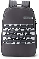 American Tourister Bounce 28 Ltrs Grey Casual Backpack (FR9 (0) 08 003)