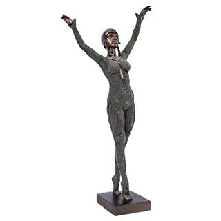 Design Toscano Die Göttin Dourga, 1925, Art Deco Skulptur